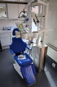 Mobil tandklinik indenfor